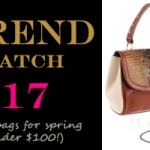(Trend Watch) 17 Bright & Bold Spring Bags, All Under $100