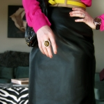 (Outfit Of The Day) DailyBuzz Style 9×9 Challenge: Neon + Neutrals