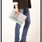 (Spy It, Buy It) DVF Adele Portfolio Clutch vs. ASOS Croc Leather Clutch