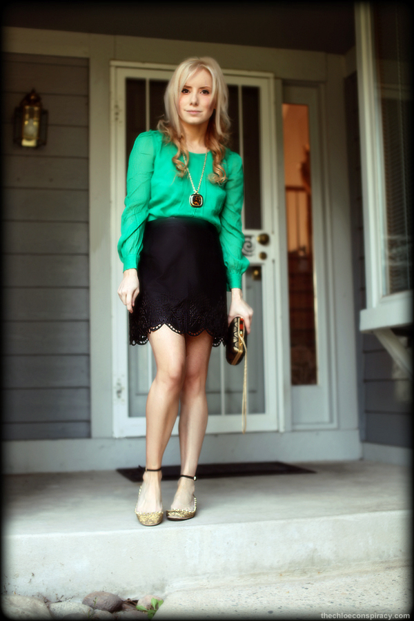 f1af19df86a3 Outfit Of The Weekend  Slightly Mean + J.Crew Gallery Green