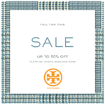 Tory Burch: Take Up to 50% Off On New Fall Markdowns (+ Get Free Shipping, Too!)