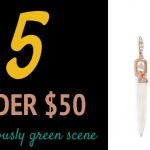 (5 Under $50) A Gorgeously Green Scene