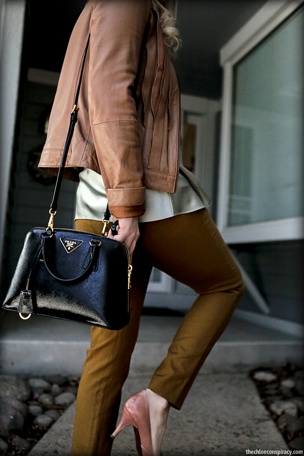 cost of prada wallet - Outfit Of The Yesterday: Tan + Jade + Mustard + Pink (\u0026amp; A Review ...