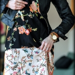 Outfit Of The Yesterday: A Flower Shower (+ A Mix Of Floral Dresses & Moto Jackets)