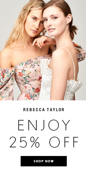 Rebecca Taylor Celebrates Friends & Family - Enjoy 25% Off w/Code: FAMILY25 | Shop Now!